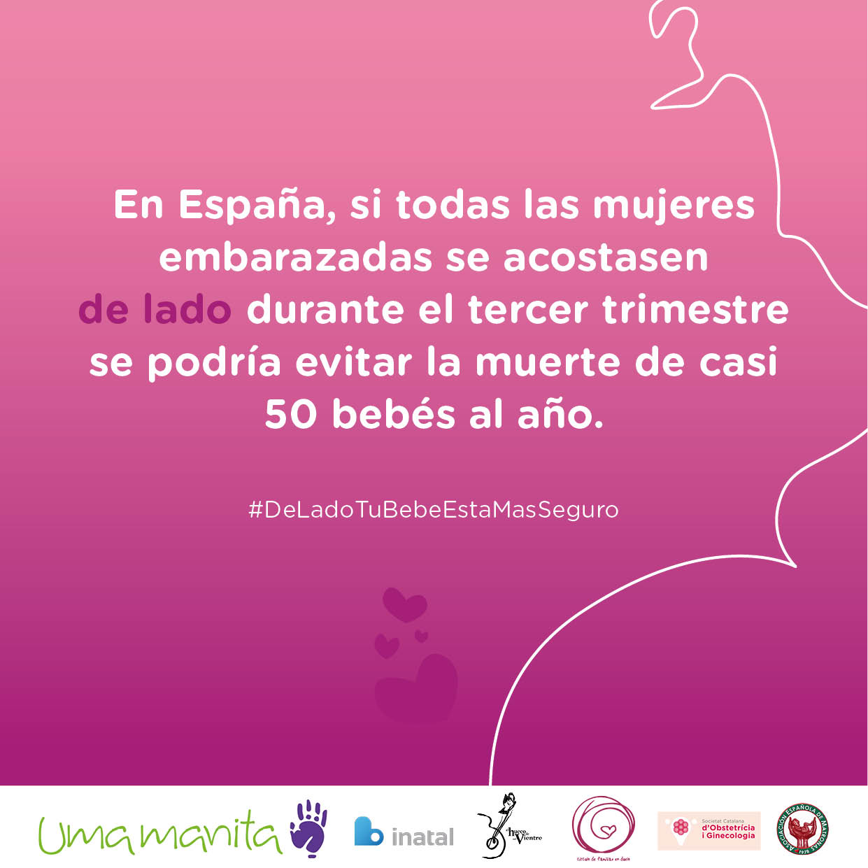 bc56bc6e9 ... embarazadas en España se acostasen de lado durante el tercer trimestre  se podría evitar la muerte de alrededor de 50 bebés al año.